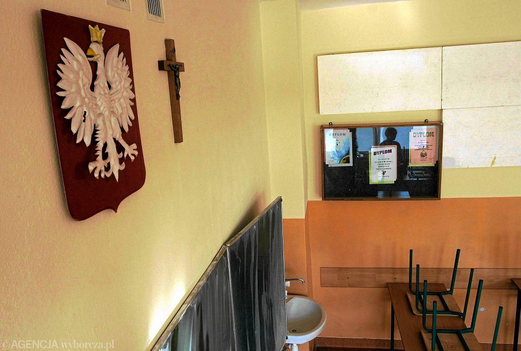 Klasa w gimnazjum we Wrocławiu