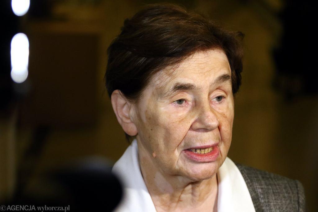 Romaszewska oburzona, że nie weszła na pogrzeb Jana Lityńskiego. Komorowski: przerost absolutnie egotyczny