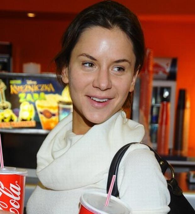 PHOTO: PIOTR WYGODA/EAST NEWS   WARSZAWA  26/01/2010  PREMIERA FILMU PLANETA 51 W CINEMA CITY SADYBA  N/Z:   NATALIA LESZ