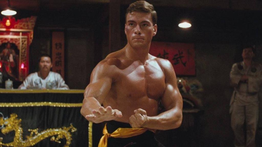 Jean-Claude Van Damme w filmie 'Krwawy Sport'
