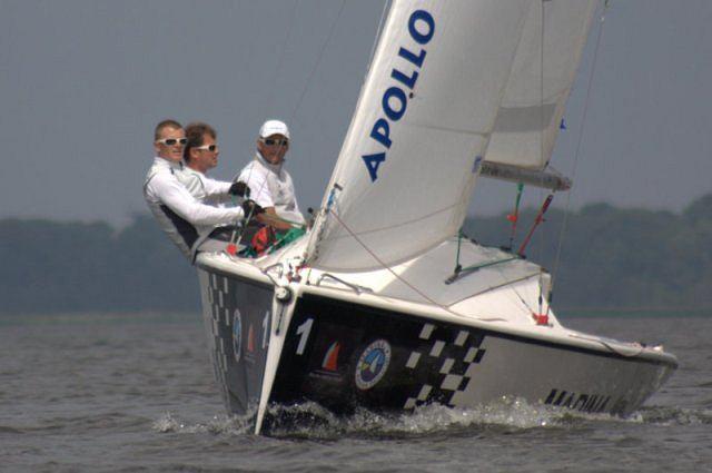 Przemysław Tarnacki wygrywa Marina Kamień Match Race1
