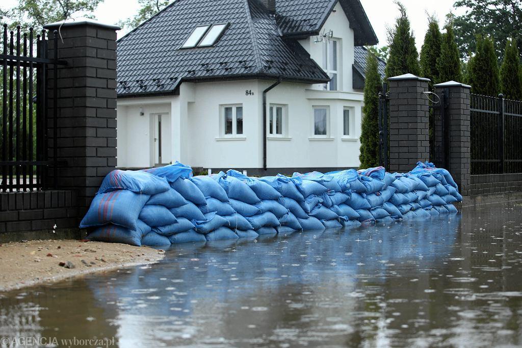 Podtopienia w Małopolsce. Trudna sytuacja hydrologiczna na południu Polski