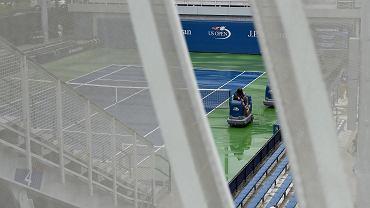 Deszcz na US Open