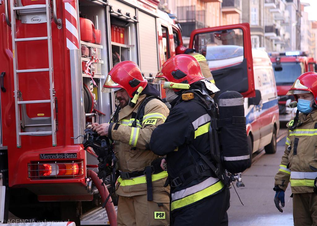 W Łomiankach doszło do pożaru domu jednorodzinnego (zdjęcie ilustracyjne)