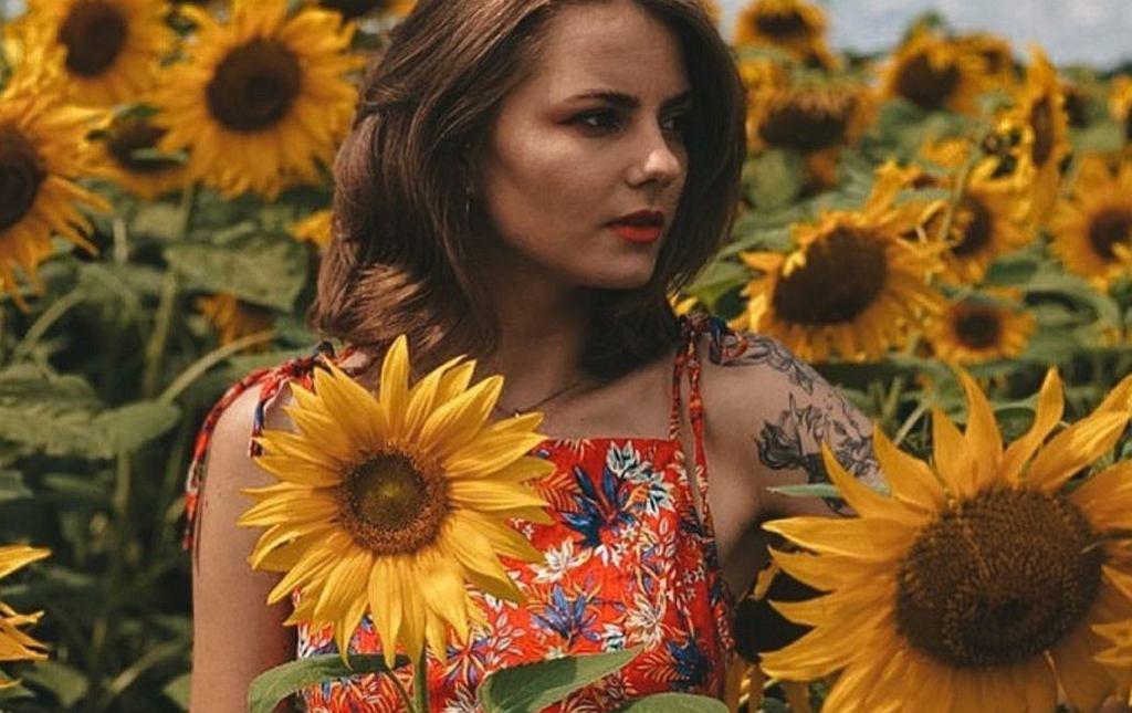 bluzka w kwiatki Sinsay