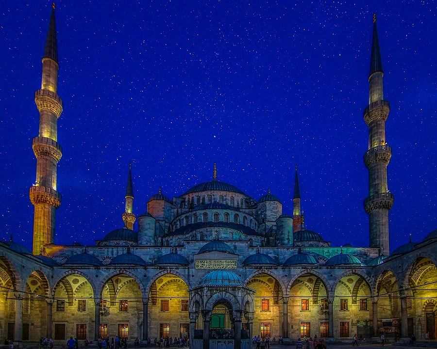 Turcja Błękitny Meczet
