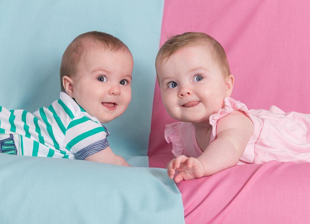 Chłopczyk na niebiesko, a dziewczynka na różowo?