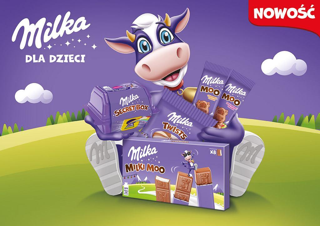 Milka - nowe produkty dla dzieci