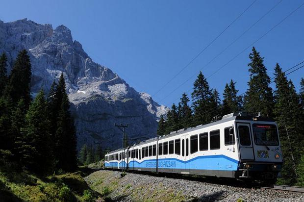 Bayerischen Zugspitzbahn, pociągi, podróże