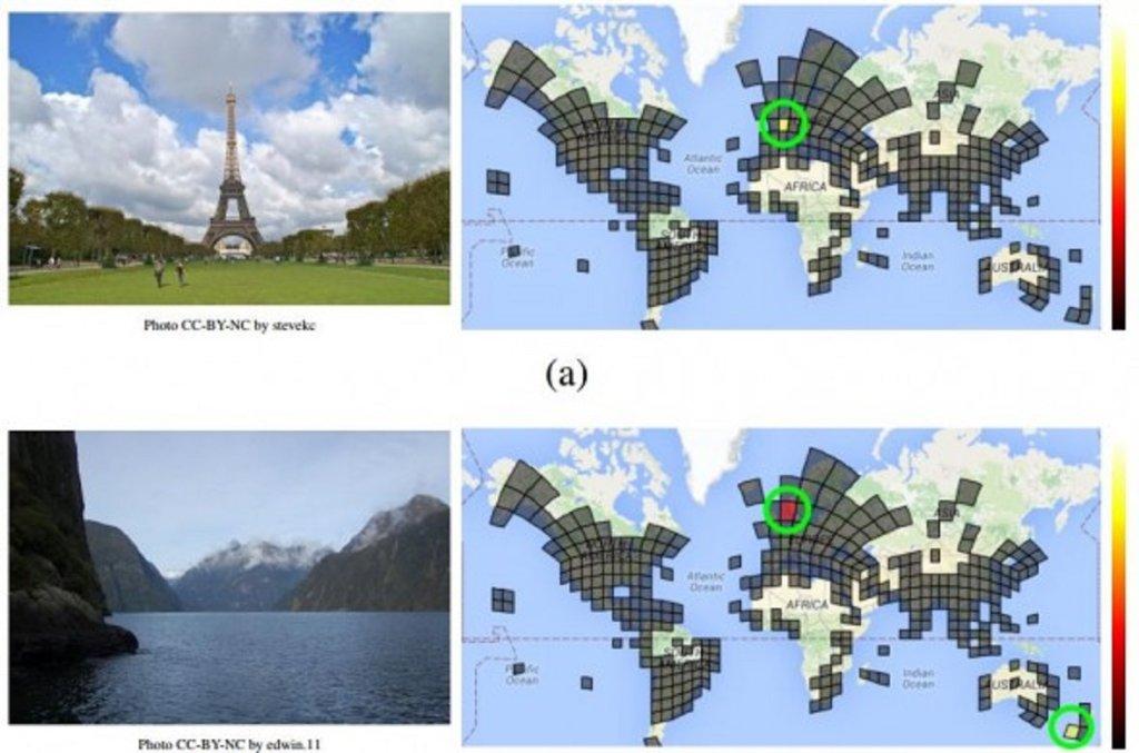 Google podzielił świat na obszary, a następnie przypisał do nich zdjęcia