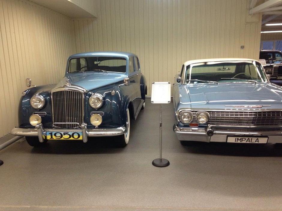 Bentley R-Type i Chevrolet Impala