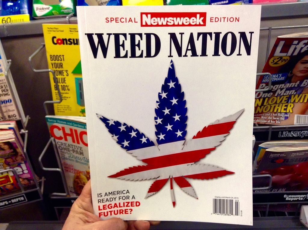 Okładka amerykańskiego wydania tygodnia 'Newsweek'