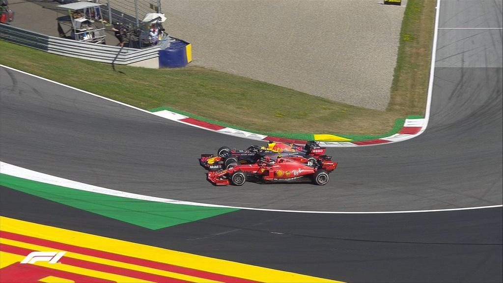Max Verstappen i Charles Leclerc