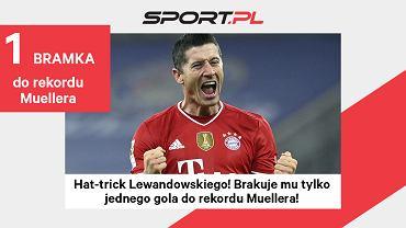 Robert Lewandowski traci tylko jednego gola do rekordu Gerda Muellera!