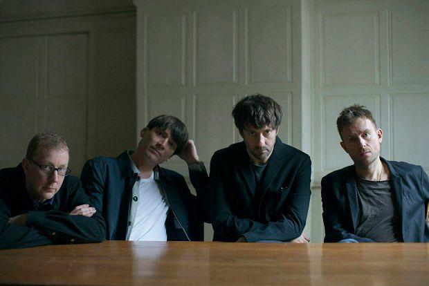 Blur AD 2015. Od lewej: Dave Rowntree, Alex James, Graham Coxon i Damon Albarn