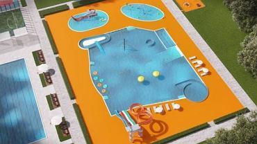 Wizualizacja basenu po przebudowie