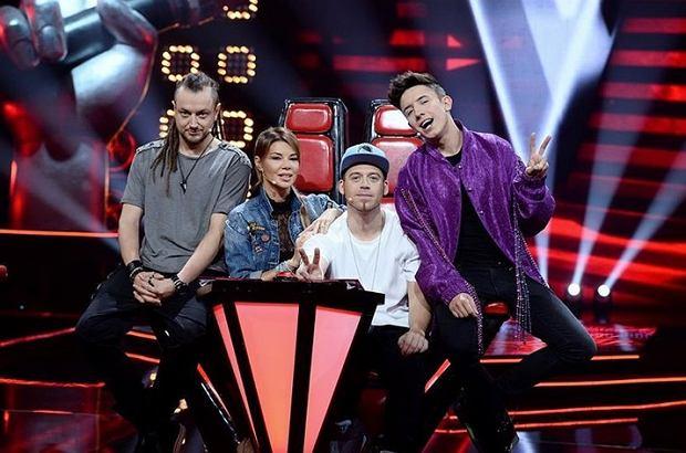 Jurorzy 'The Voice Kids' - Baron, Edyta Górniak, Tomson i Dawid Kwiatkowski
