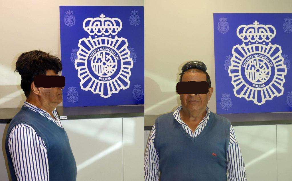 Barcelona. Policjanci zwrócili uwagę na dziwny kształt włosów Kolumbijczyka. Schował tam kokainę