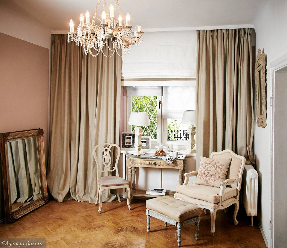 Nowoczesne wnętrza w stylu francuskim