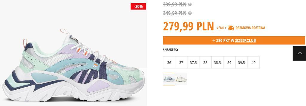 Sneakersy Fila