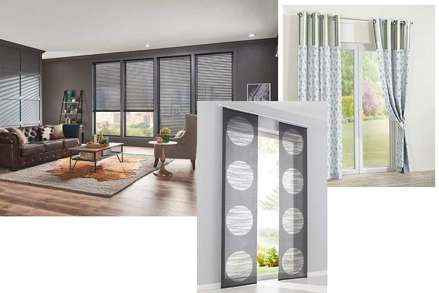 Dekoracja okien w salonie - inspiracje