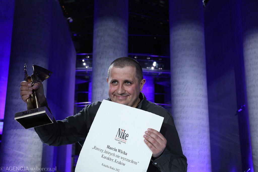 Nagroda Literacka 'Nike' 2018 - Marcin Wicha za 'Rzeczy, których nie wyrzuciłem'