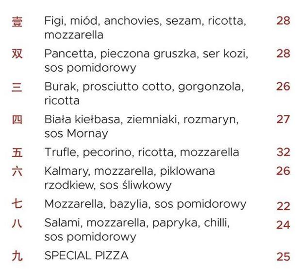 Pizze w Reginabar przy Koszykowej 1