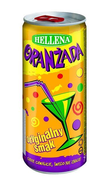 Oranżada Hellena - puszka o pojemności 250 ml