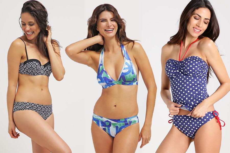 Kostiumy kąpielowe dwuczęściowe i bikini