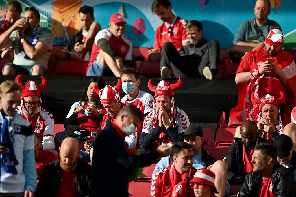 Euro 2020. Mecz Danii z Finlandią, podczas którego przytomność stracił Christian Eriksen