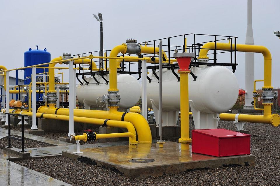 Fragment instalacji do przesyłu gazu pomiędzy Rumunią i Mołdawią