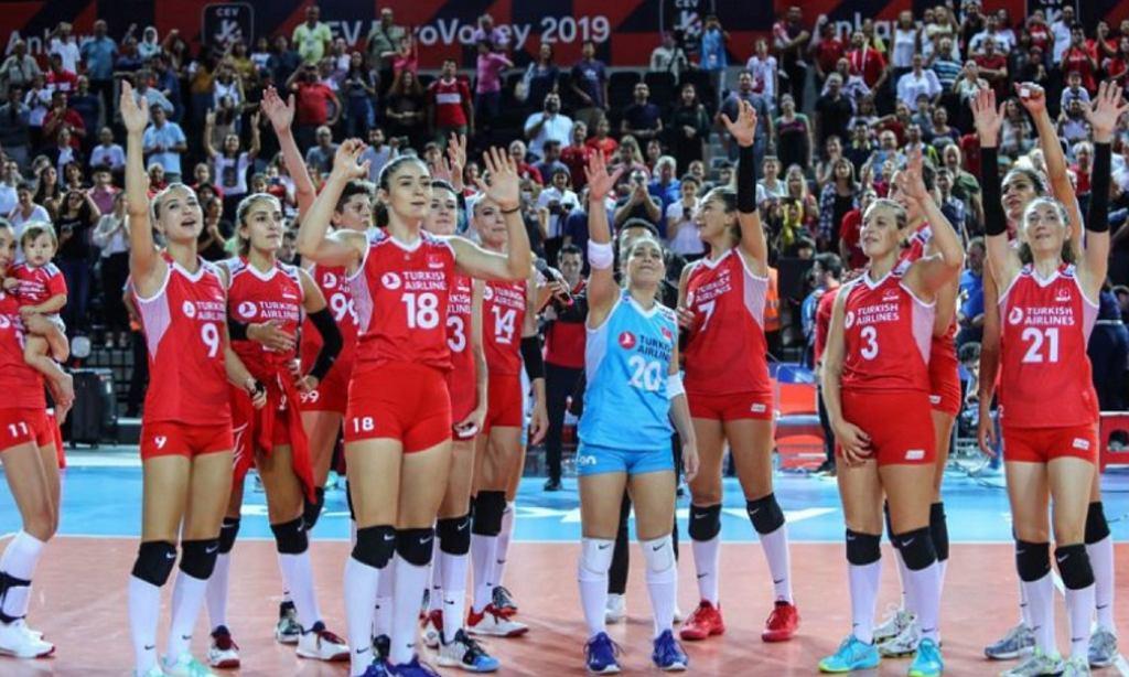 Siatkarki reprezentacji Turcji