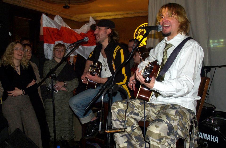 Lawon Wolski podczas koncertu