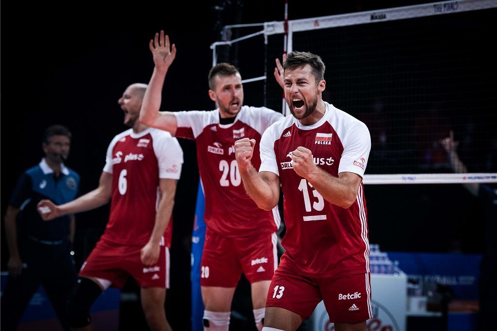 Liga Narodów: Brazylia - Polska, siatkówka