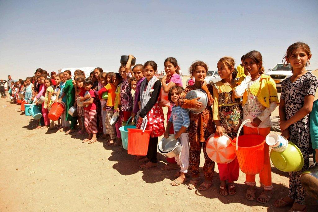 Jazydcy przesiedleńcy w Iraku