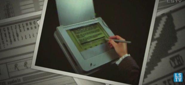 Pierwszy tablet