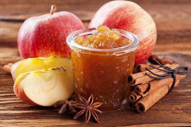 Konfitura jabłkowa z rodzynkami Bakalland