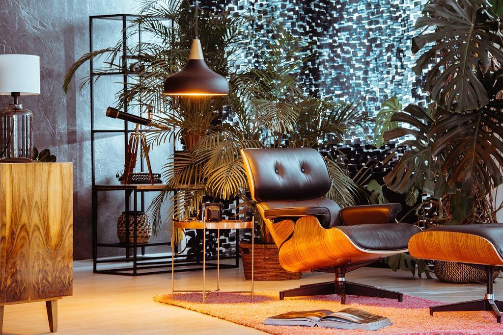 Fotel skórzany Lounge Chair