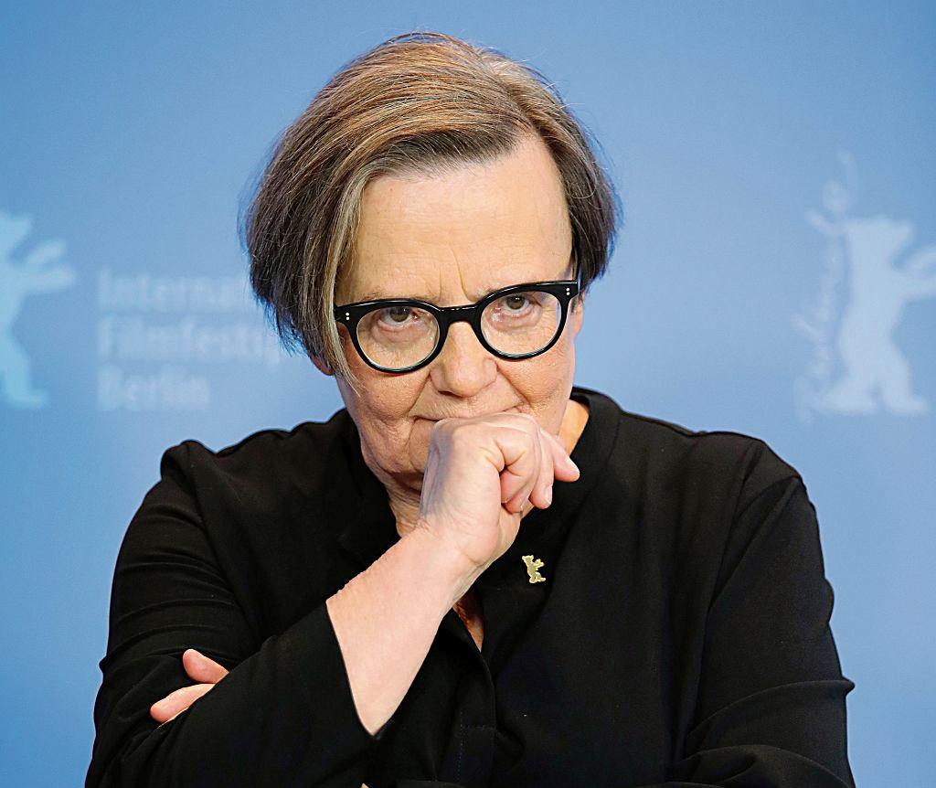 Agnieszka Holland na premierze 'Obywatela Jonesa' podczas 69. Berlinale, 10.02.2019