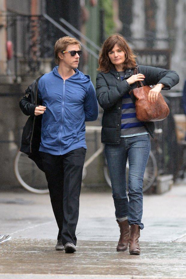 Paul Banks i Helena Christensen,