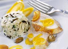 Indyk z sosem cytrynowym - ugotuj