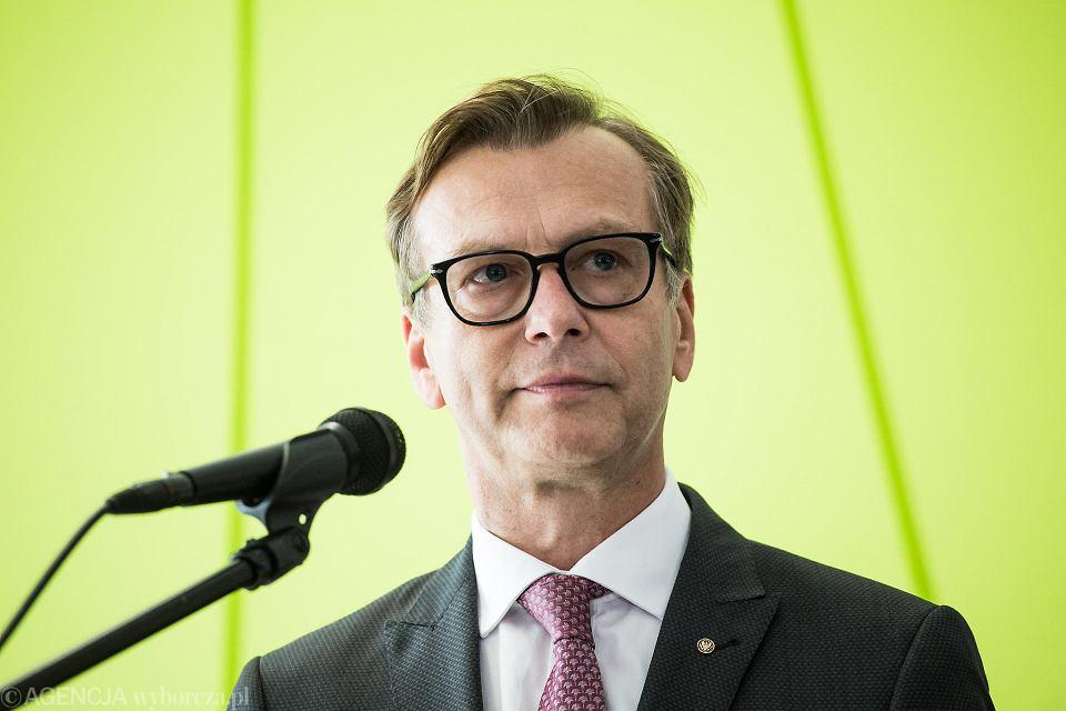 Prof. Mirosław Wielgoś, rektor Warszawskiego Uniwersytetu Medycznego