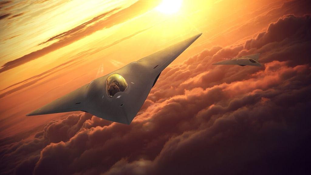 Wizja nowego myśliwca firmy Lockheed Martin. Nie wiadomo czy zostanie zrealizowana