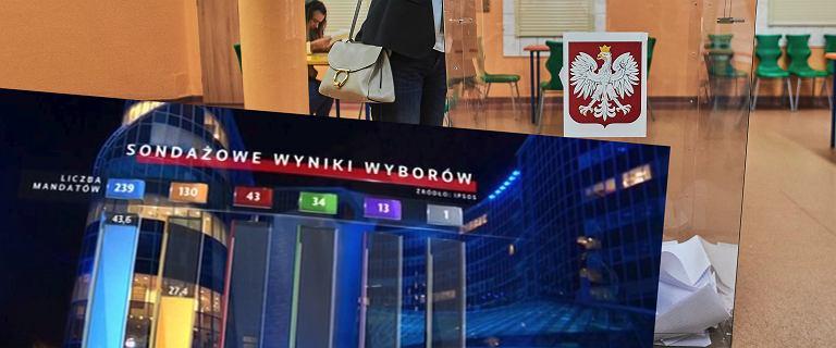 Wybory parlamentarne 2019. Wyniki exit poll. Polacy znów uwierzyli PiS
