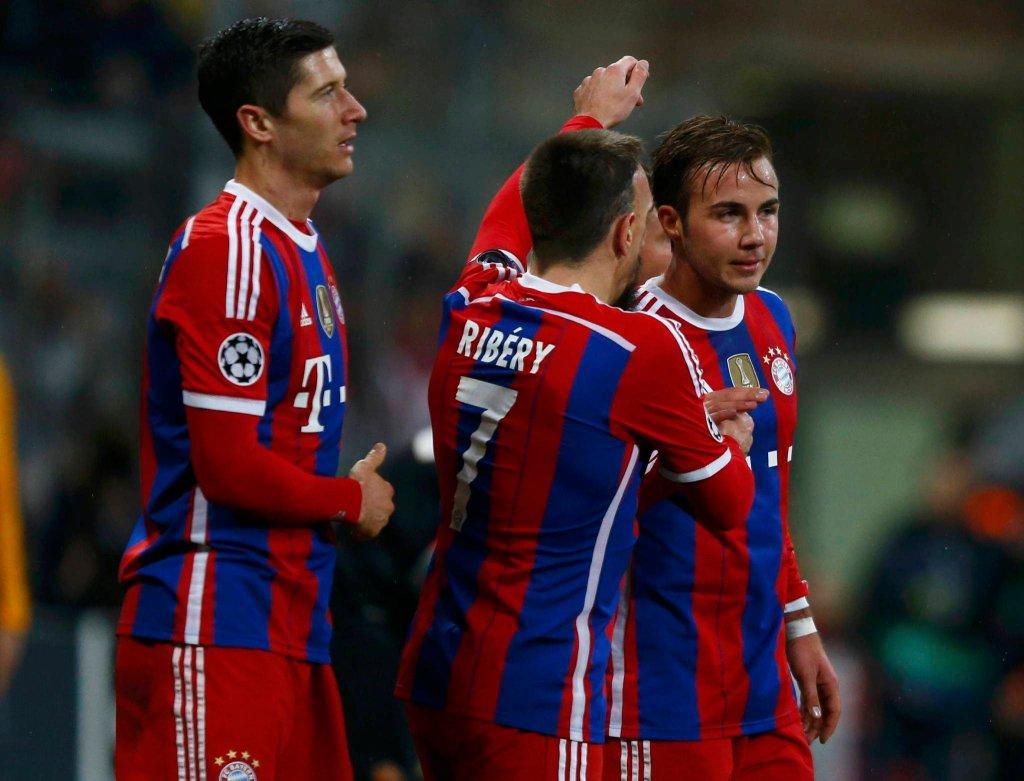 Liga Mistrzów. Bayern - Roma 2:0