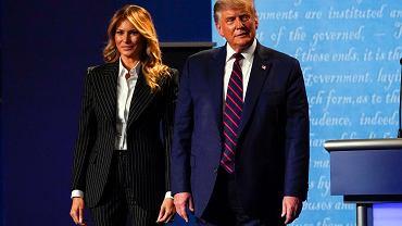 Melania i Donald Trump zakażeni koronawirusem