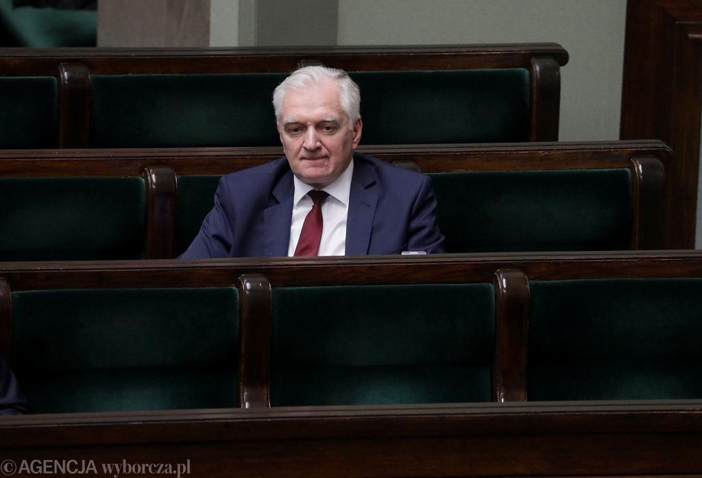 Jarosław Gowin w Sejmie