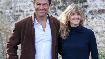 Dominic West z żoną, Catherine FitzGerald