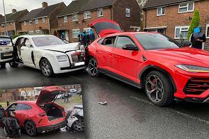 Senny poranek, miasteczko w centralnej Anglii i zderzenie Rolls-Royce'a z Lamborghini. Kierowca brytyjskiej limuzyny rozpłynął się w powietrzu