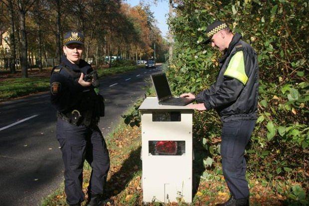 Stacjonarne fotoradary - nie dla straży miejskiej